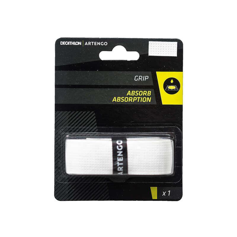 Tennisschläger Zubehör Tennis - Griffband Absorb Tennis ARTENGO - Tennis Ausrüstung