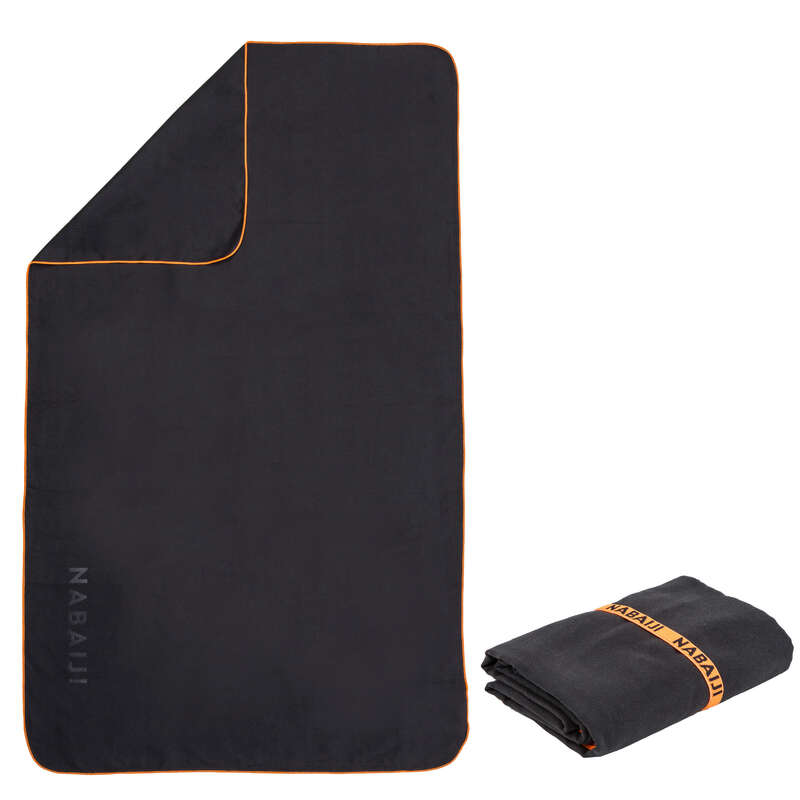 TOWELS - Microfibre towel L black