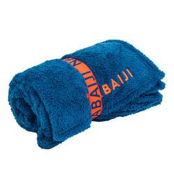 Ultra-Soft Microfibre Towel Size L 80 x 130 cm - Blue