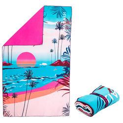 Compact microfibre towel size XL 110 x 175 cm - Printed