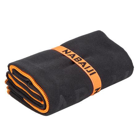 Ultra compact microfibre towel size XL 110 x 175 cm - grey