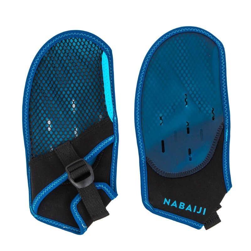 Edzés felszerelés Úszás, uszodai sportok - Úszókesztyű 100 NABAIJI - Úszás felszerelés