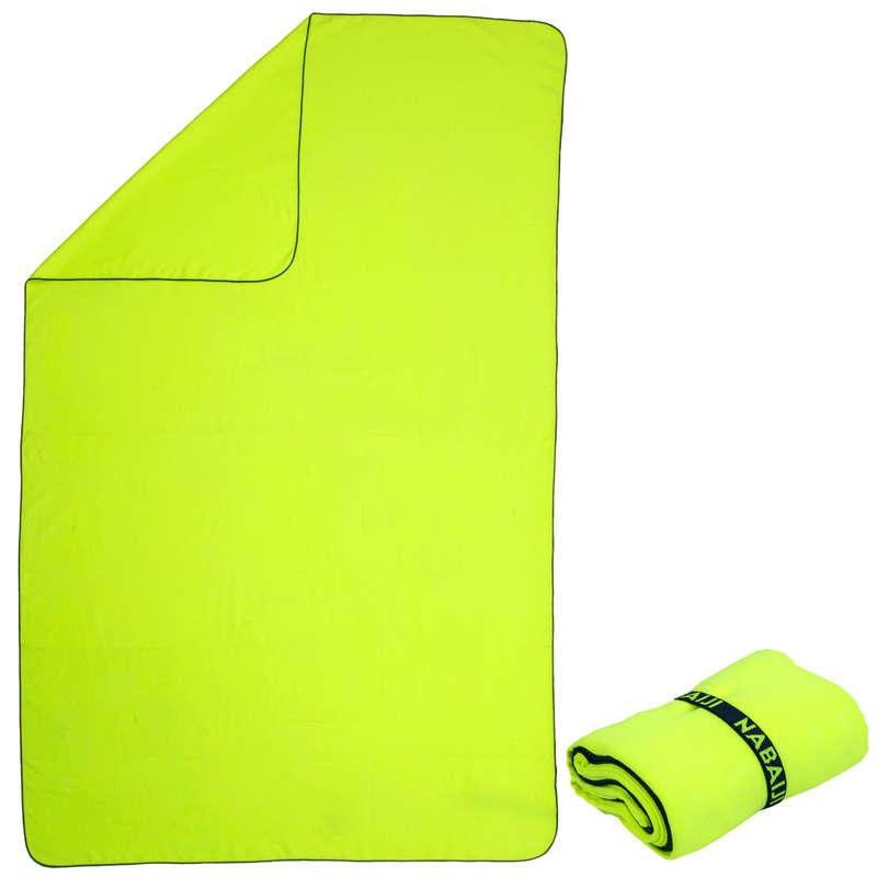 TOWELS - Microfibre Towel, XL - Yellow