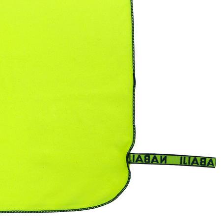 Swimming Microfibre Towel Size L 80 x 130 cm - Neon Yellow