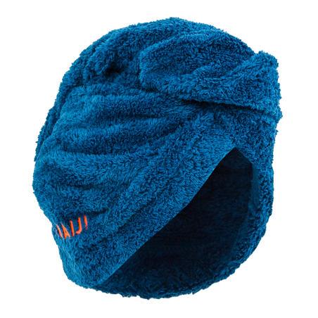 Handuk Rambut Mikro fiber- Biru