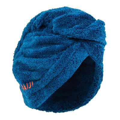 Nabaiji Haarhanddoek in zachte microvezel blauw