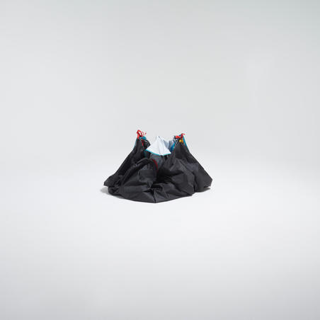 "Kempinga telts ""2 seconds"", sistēma Easy, materiāls Fresh & Black, divvietīga"
