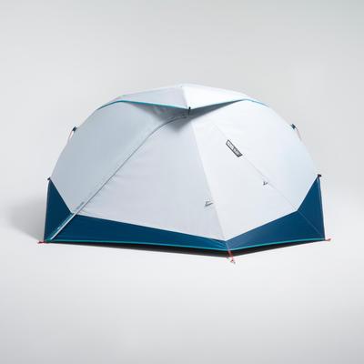 Carpa de Camping Pequeña Quechua 2 Seconds Easy Fresh & Black 2 Personas
