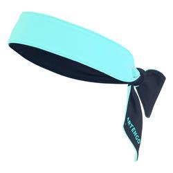 網球頭巾 - 海軍藍配藍綠色
