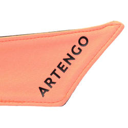 BANDANA TENNIS ARTENGO NOIR ORANGE