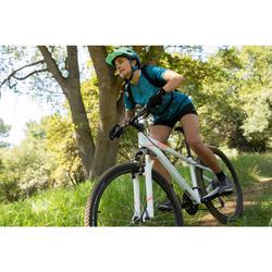 "Mountainbike dames ST 100 27.5"" 3x7 speed microshift/shimano wit/roze"
