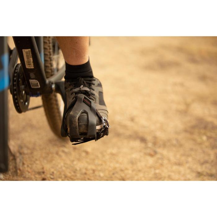 Universele toeclips voor fietspedalen