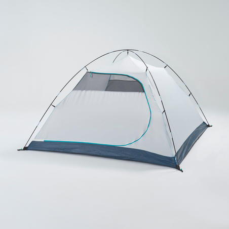 CAMPING TENT MH100 - GREY - 3 PERSON