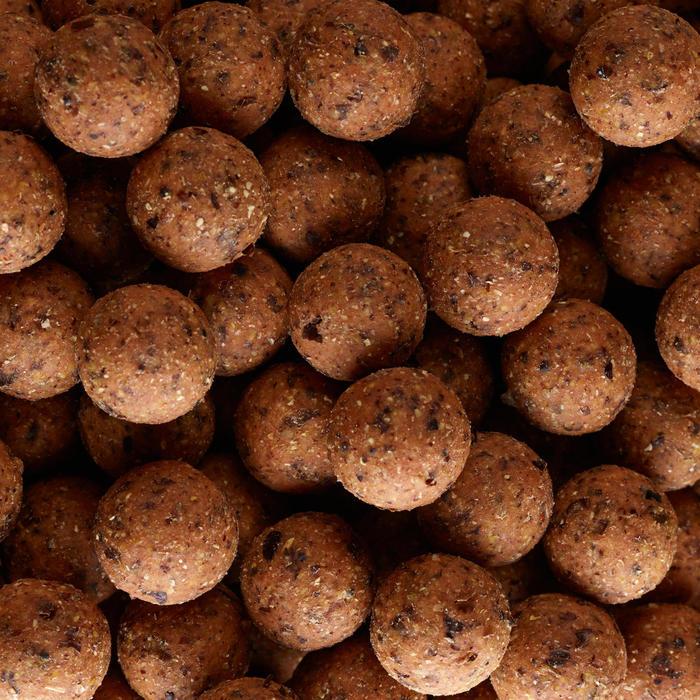 Bouillettes pêche de la carpe NATURALSEED 24mm 10kg Ail/foie