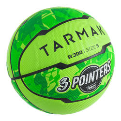 Basketbal voor beginnende kinderen R300 maat 5 tot 10 jaar