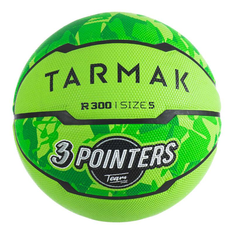 PALLONI BASKET Sport di squadra - Pallone basket R300 T5 verde TARMAK - Palloni e accessori basket