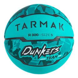 Basketbal voor beginnende kinderen tot 10 jaar R300 maat 5 turkoois