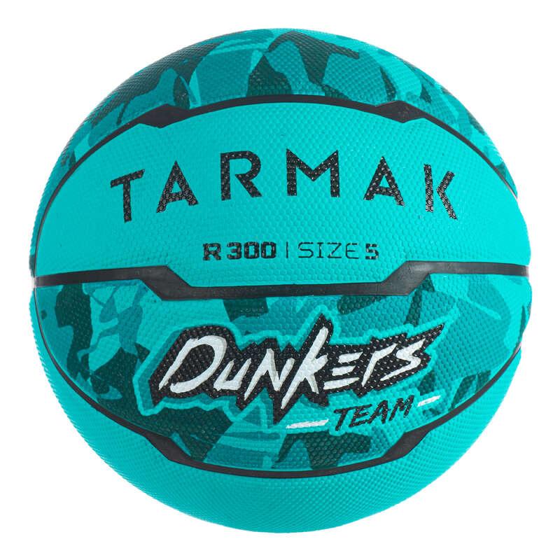 BASKETBOLLAR - Basketboll R300 T5 turkos TARMAK