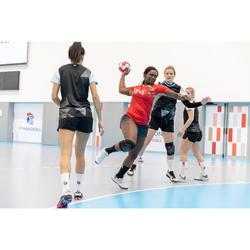 Chaussures de handball femme STRONGER H900 blanc gris