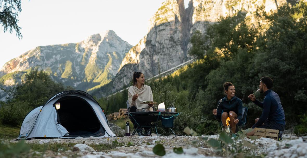 Réglementation concernant le camping sauvage