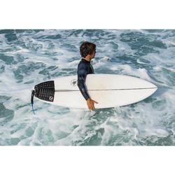 tee shirt anti uv surf top 500 manches longues homme noir