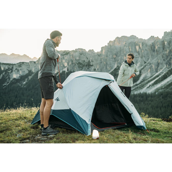 TENTE DE CAMPING 2 SECONDS EASY - FRESH & BLACK - 2 PERSONNES