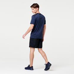 男款跑步短褲RUN DRY - 黑色