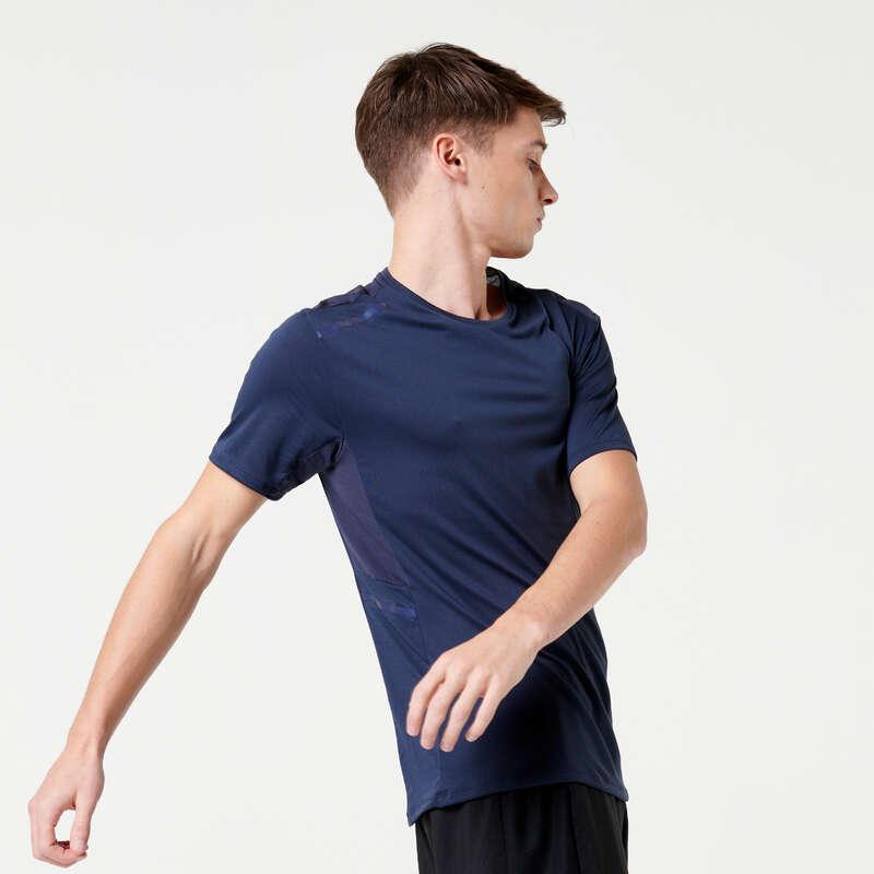 Férfi tavasz-nyári ruházat - rendszeres Futás - FÉRFI FUTÓPÓLÓ DRY+ KALENJI - Futás