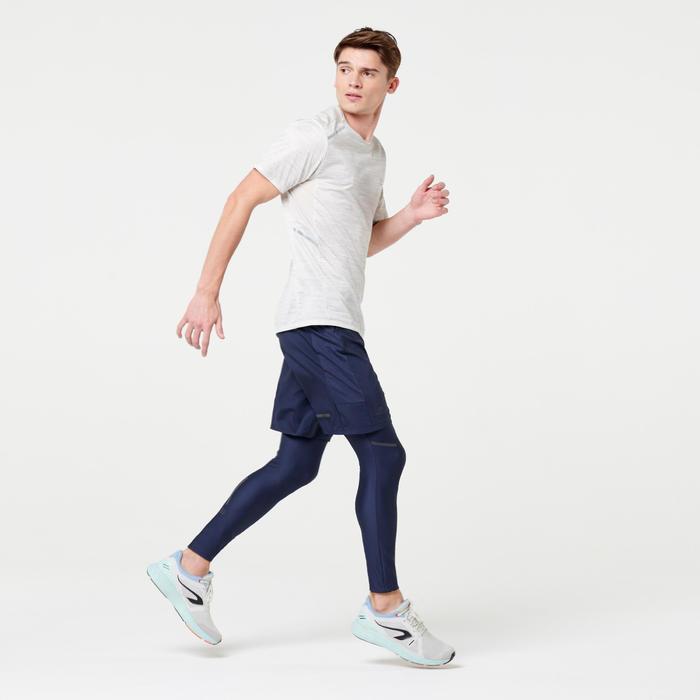 Hardloopshort voor heren Run Dry+ blauw
