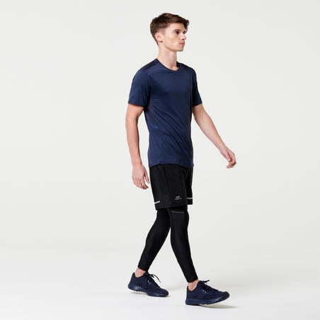 RUN DRY+ MEN'S RUNNING SHORTS - NEW BLACK