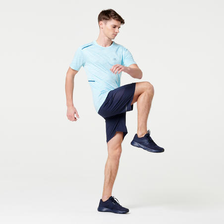 Run Dry+ Running T-Shirt - Blue Pastel - Men's