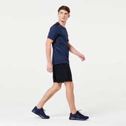 RUN DRY MEN'S RUNNING SHORTS - BLACK