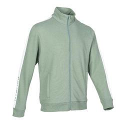 男款訓練外套500 - 綠色