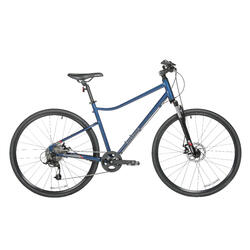 700C Riverside 500 Hybrid Bike Aluminium - Blue