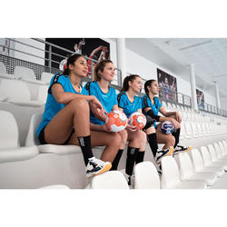 Handbalschoenen voor dames H100 zwart/wit