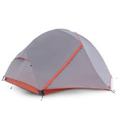 Vrijstaande tent voor trekking 3 seizoenen Trek 900 3 personen grijs