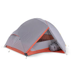 Tente de trekking autoportante 3 saisons - TREK 900 grise 3 personnes