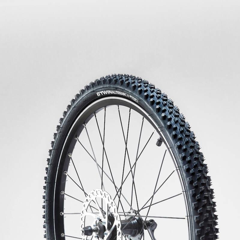 PLÁŠTĚ NA DĚTSKÁ KOLA Cyklistika - PLÁŠŤ NA HORSKÉ KOLO 24 × 1,95 BTWIN - Náhradní díly na kolo