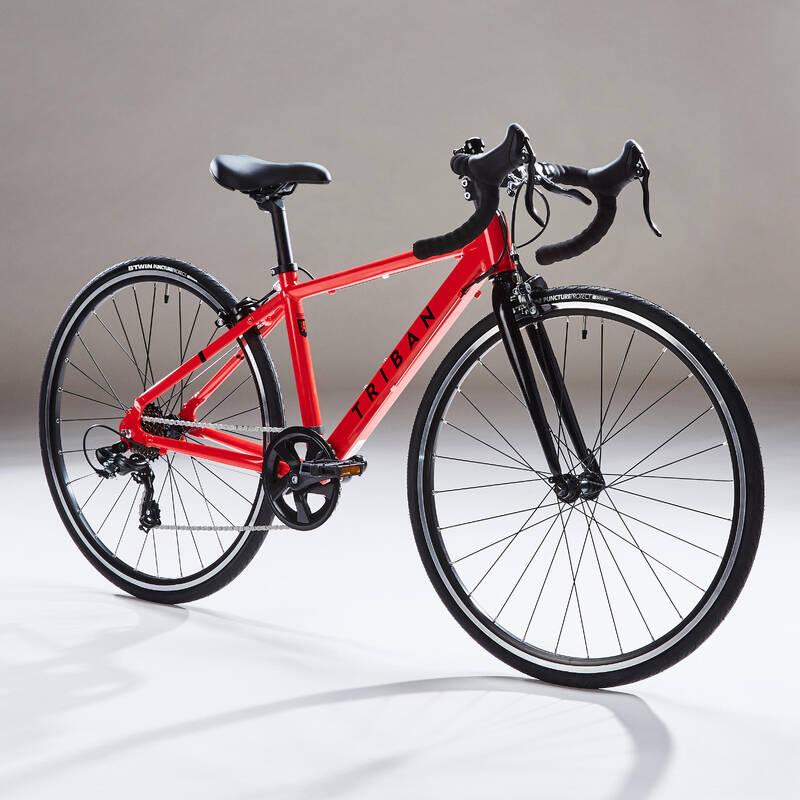 DĚTSKÁ SILNIČNÍ KOLA 6–12 LET Cyklistika - SILNIČNÍ KOLO 100 9–12 LET  BTWIN - Jízdní kola