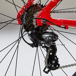Racefiets / wielrenfiets kind 26 inch 9-12 jaar Triban 100 shimano tourney rood