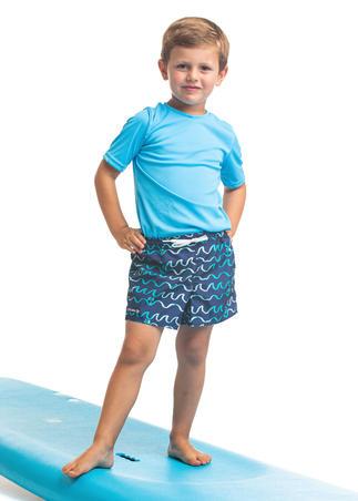 Celana Selancar Anak 100 - ORIGAMI Biru