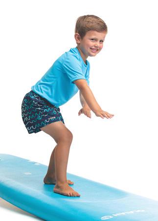 Kids' 100 Boardshorts - ORIGAMI Blue