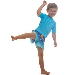 Maillot de bain Boardshort garcon100 Kid Tokyo Bleu