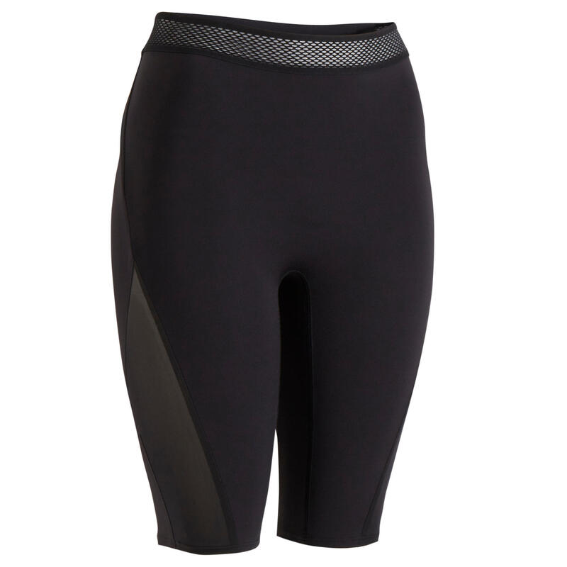 Cycliste taille haute Fitness gainant