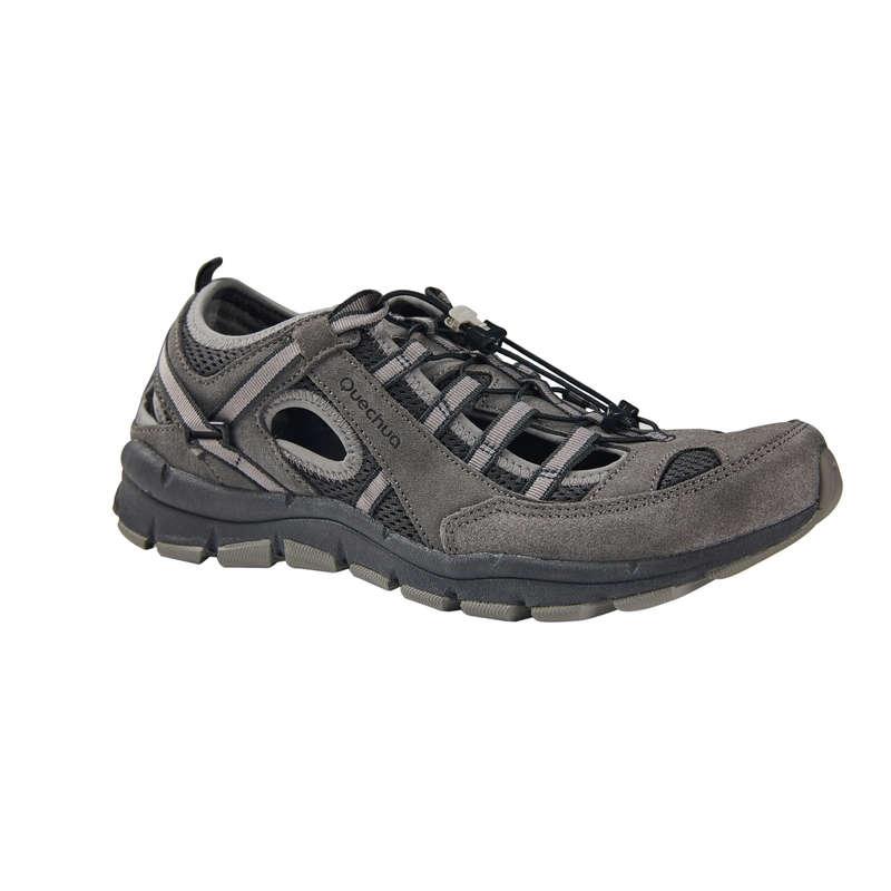 Férfi szandál, nyári cipő Túrázás - Férfi túracipő NH150  QUECHUA - Cipő, bakancs, szandál