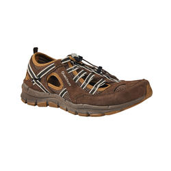 NATURE HIKING SHOES - NH150 FRESH - BROWN - MEN