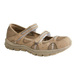 BREATHABLE NATURE HIKING SHOES - NH150 FRESH - BROWN - WOMEN