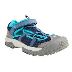 男童款健行涼鞋MH150-天空藍