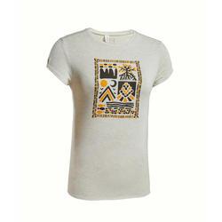 女款T恤 NH500-米色