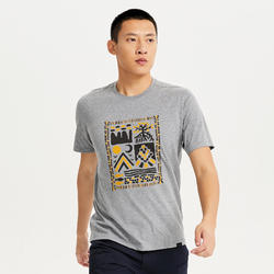 M T-Shirt NH500 CN Grey